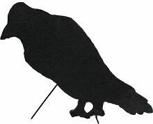 EUROPALMS Silhouette Crow, 63cm - Décoration