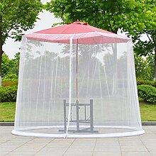 Eustoma Super Grande Moustiquaire pour Parasol,