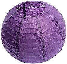 Evazory 10 lanternes rondes en papier, abat-jour