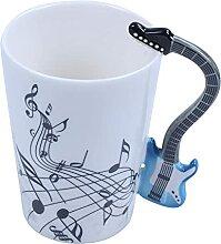 Evazory 300ML Guitar Cup Note de Musique