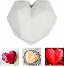 Evazory 3D Moule À Gâteau En Silicone, Diamant