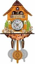 Evazory Antique En Bois Coucou Horloge Murale