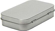 Evazory Boîte en métal pratique avec couvercle