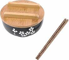 Evazory bol japonais plats de nouilles