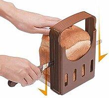 Evazory Coupe-pain Bagel réglable Coupe-pain pour