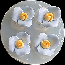 Evazory DIY Fleur Époxy Résine Moules Rose