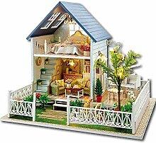 Evazory DIY Maison de poupée en bois Kit