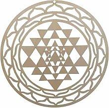 Evazory en bois Yoga méditation symbole énergie