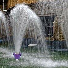 Evazory été piscine fontaine mur fleur tête