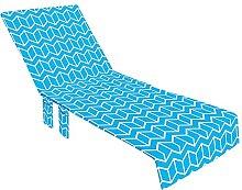 Evazory Housse de chaise de plage souple, Housse
