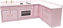 Evazory maison de poupée armoires de cuisine