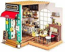 Evazory Maison de poupée en bois à faire
