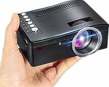 Evazory Mini Projecteur Mini Full HD Home Cinéma
