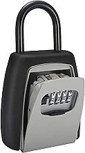 Evazory mot de passe boîte à clés gris quatre
