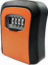 Evazory Orange mot de passe clé serrure boîte