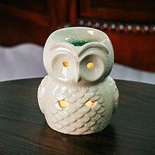 Evazory Owl Aroma Lampe à huile Cadeaux et