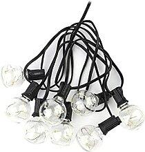Evazory Patio Lights Ampoule Solaire Guirlande