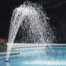 Evazory piscine fontaine pompe fleur forme mur