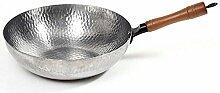 Evazory Poêles Fry Old Iron Pan Wok Poêle
