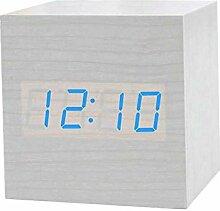 Evazory projection réveil radio-piloté horloge