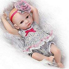 Evazory Reborn Baby Dolls 26Cm Doux Corps En