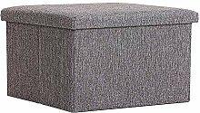 Evazory siège cube canapé tabouret de rangement