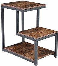 Evazory Table à thé, Table d'appoint en bois