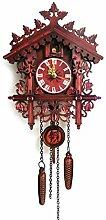 Evazory Vintage en bois coucou horloge murale
