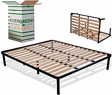 EvergreenWeb - Sommier Lit Double Pliable 140x200