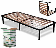 EvergreenWeb - Sommier Lit Simple pliable 75x190cm