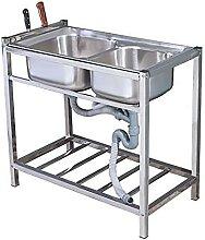 Évier Commercial, évier de restauration en acier