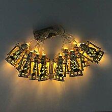 EWAT Guirlande lumineuse à 10 LED Eid Mubarak en