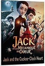 EWRT Poster décoratif sur toile Jack et