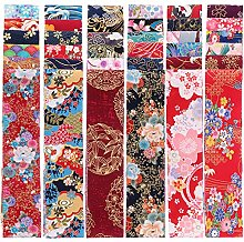 EXCEART 36 Pièces Tissu Quilting Bandes Japonais