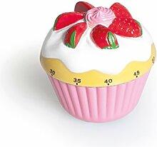 Excelsa Cupcake Minuteur, Multicolore