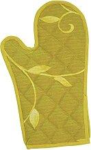 Excelsa Gant de Four, matelassé, Tissu Ver