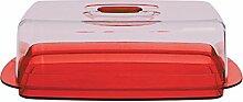 Excelsa Rainbow & Cloche à Fromage Rouge 30 x 17
