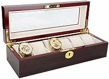 Exécution exquise 6 boîte de rangement de montre