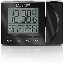 EXPLORE SCIENTIFIC Horloge Radio-pilotée avec