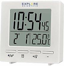 EXPLORE SCIENTIFIC RDC1005 Horloge de Voyage