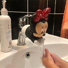 Extension de robinet en silicone, motif Disney,