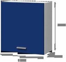 EXTRA - Meuble haut de cuisine 60cm -  Bleu Mat