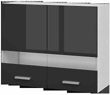 EXTRA - Meuble haut de cuisine L 80cm 2 Portes