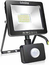 EXTRASTAR 20W Projecteur LED Avec Détecteur de