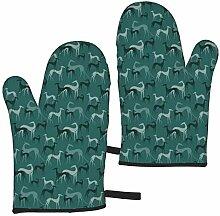 Eybfrre Accessoires de Cuisine Sighthounds Emerald