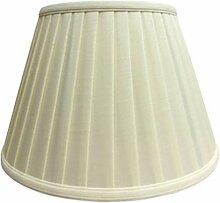 FABBD E27 Abat-Jour en Lin Rond, 100% Pure Lampe