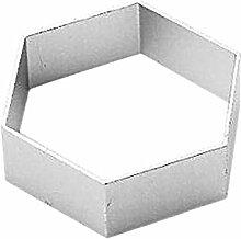 Fablcrew 1Pcs Emporte-pièces Moule de Hexagone en