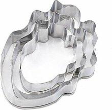 Fablcrew 3Pcs Emporte-pièces Moule en Forme de