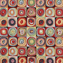 Fabulous Fabrics Jacquard Gobelin Cercles