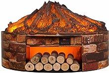 FACAZ Poêle Traditionnel à Effet de Flamme 3D